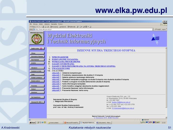 www.elka.pw.edu.pl