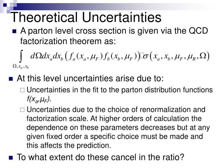 Theoretical Uncertainties