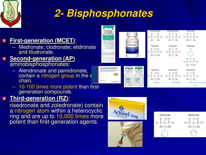 2- Bisphosphonates