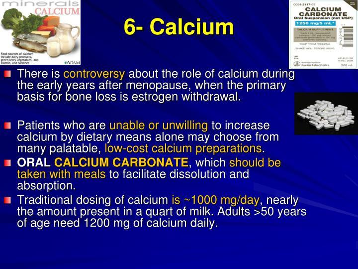 6- Calcium