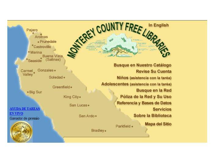 Chris ricker monterey county free libraries