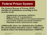 federal prison system1