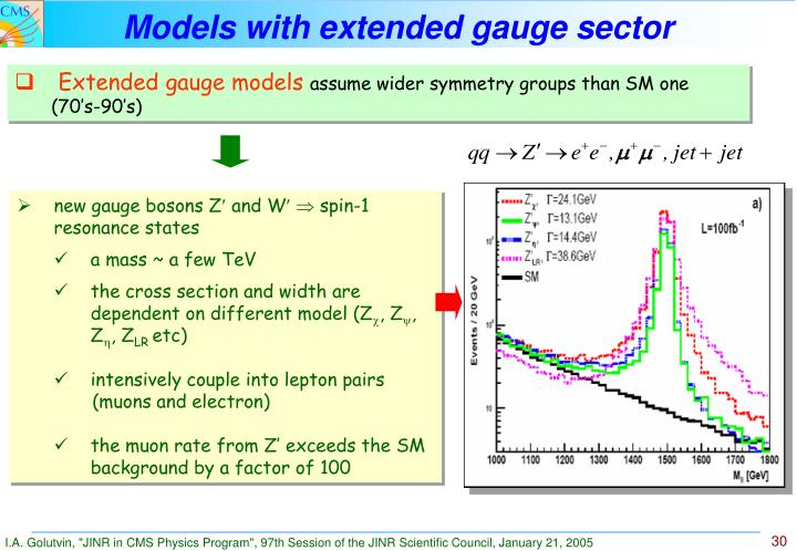 Models with extended gauge sector