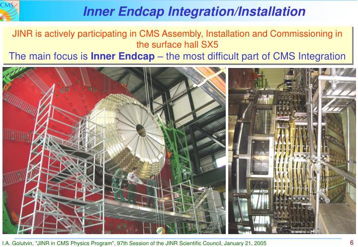 Inner Endcap Integration/Installation