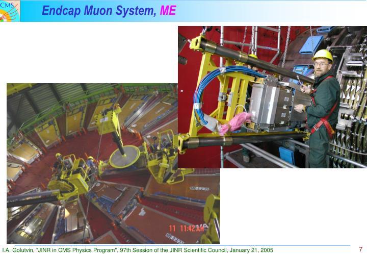 Endcap Muon System,
