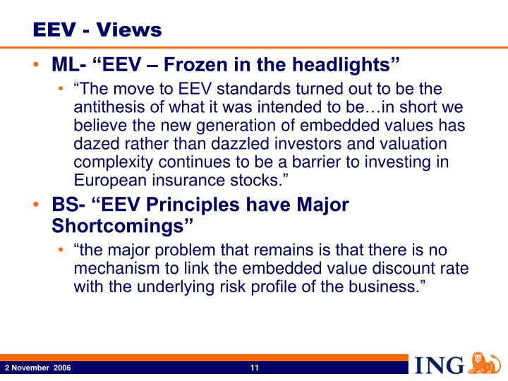EEV - Views