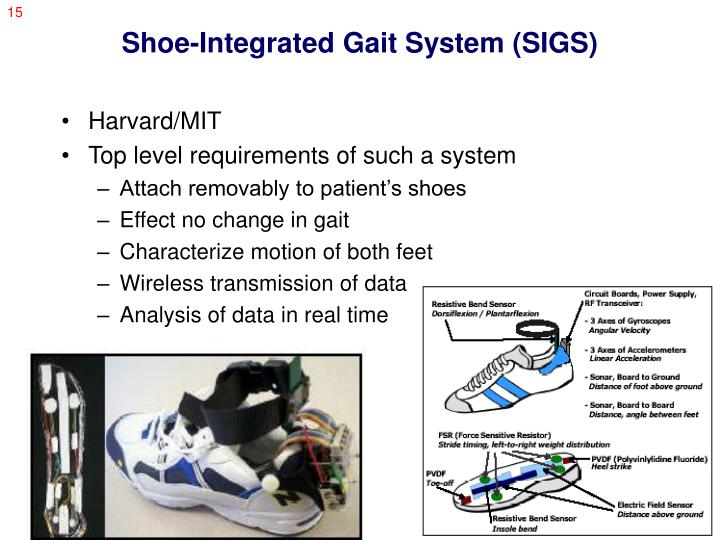 Shoe-Integrated Gait System (SIGS)