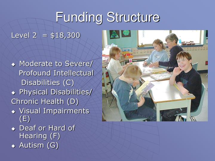 Funding Structure