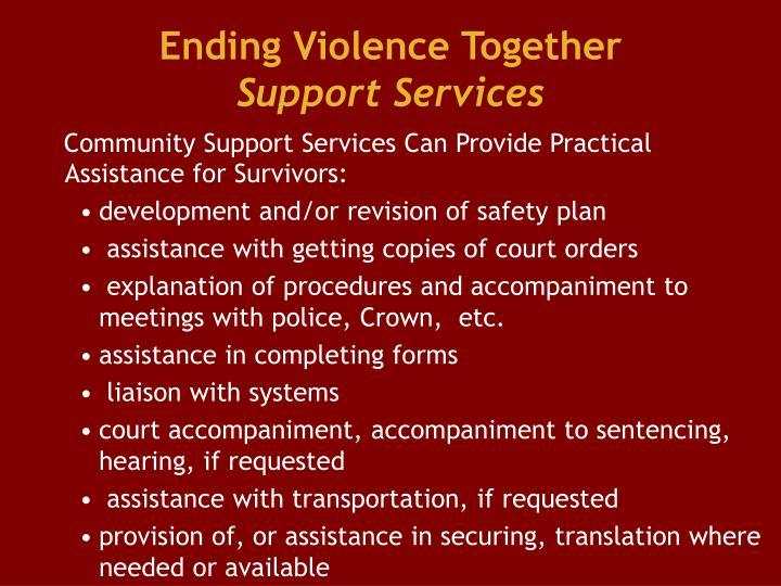 Ending Violence Together