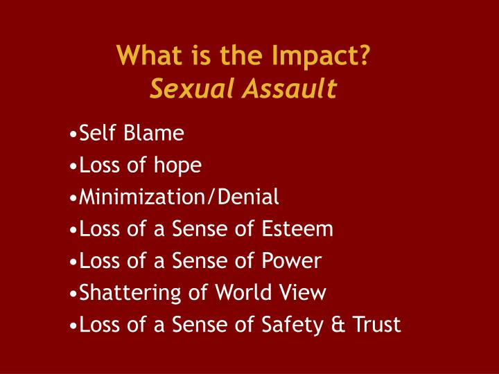 What is the Impact?