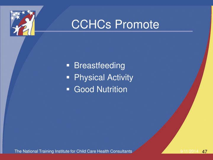 CCHCs Promote