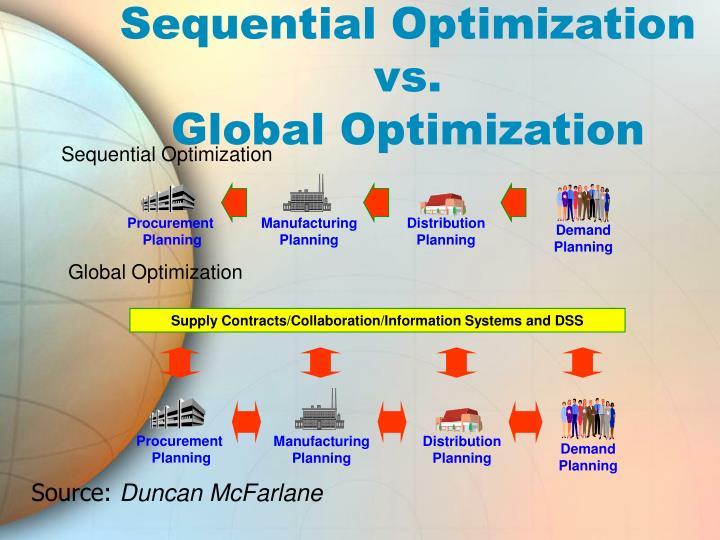 Sequential Optimization
