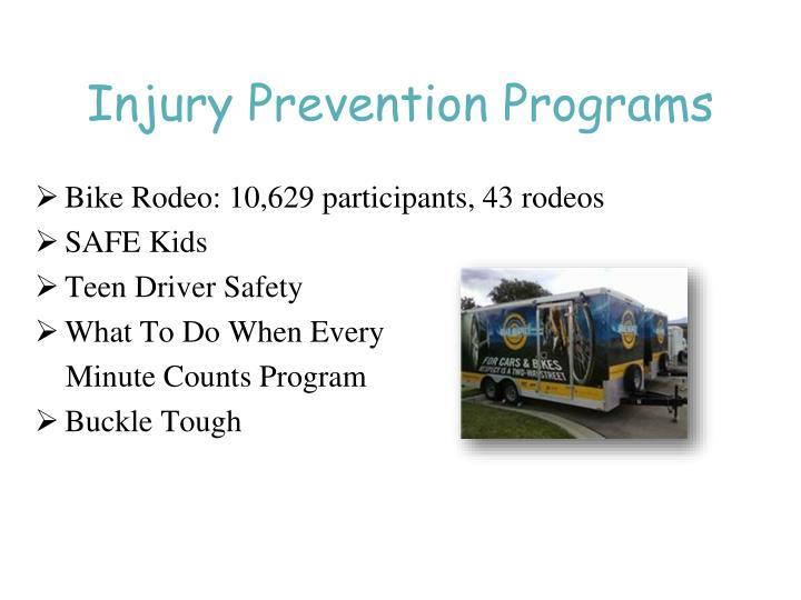 Injury Prevention Programs