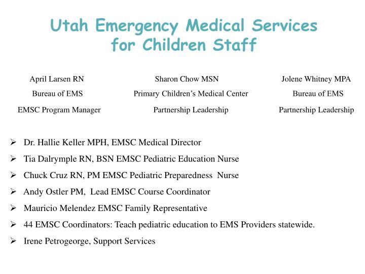 Utah Emergency Medical Services