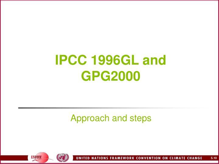 IPCC 1996GL and