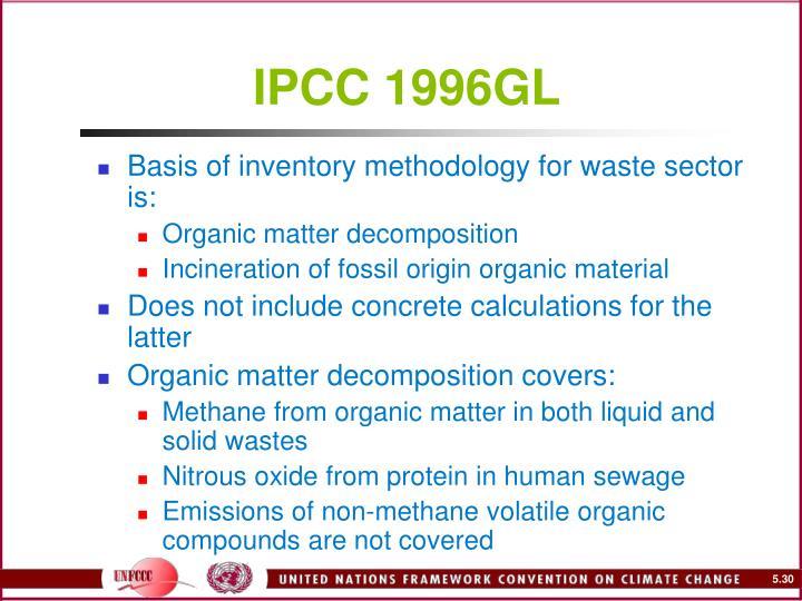 IPCC 1996GL