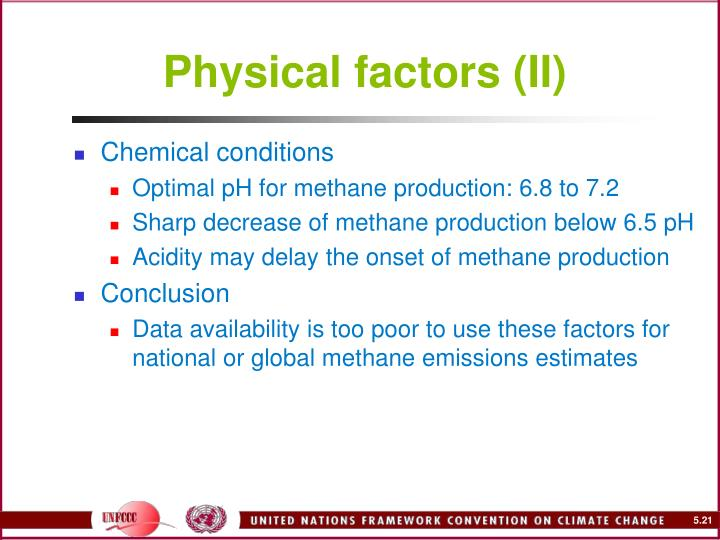 Physical factors (II)