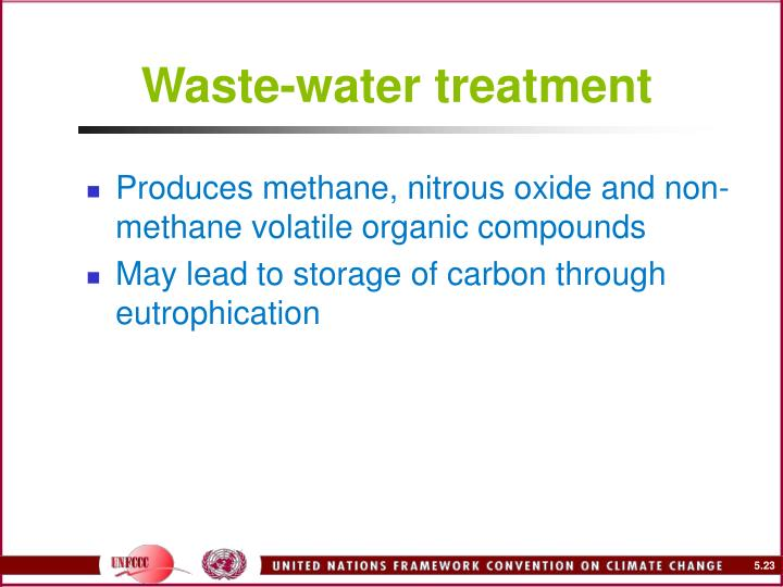 Waste-water treatment