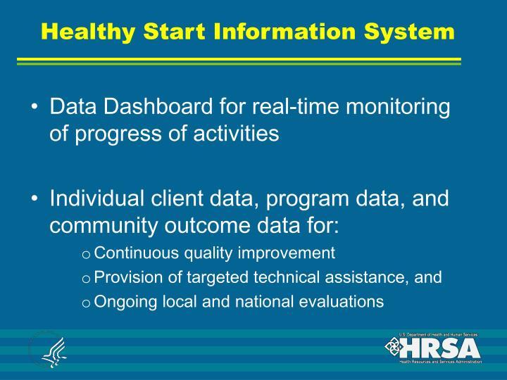 Healthy Start Information System
