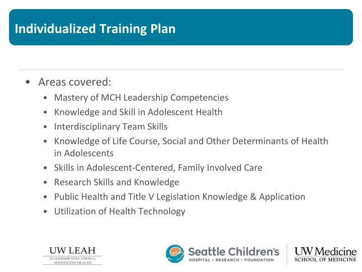 Individualized Training Plan