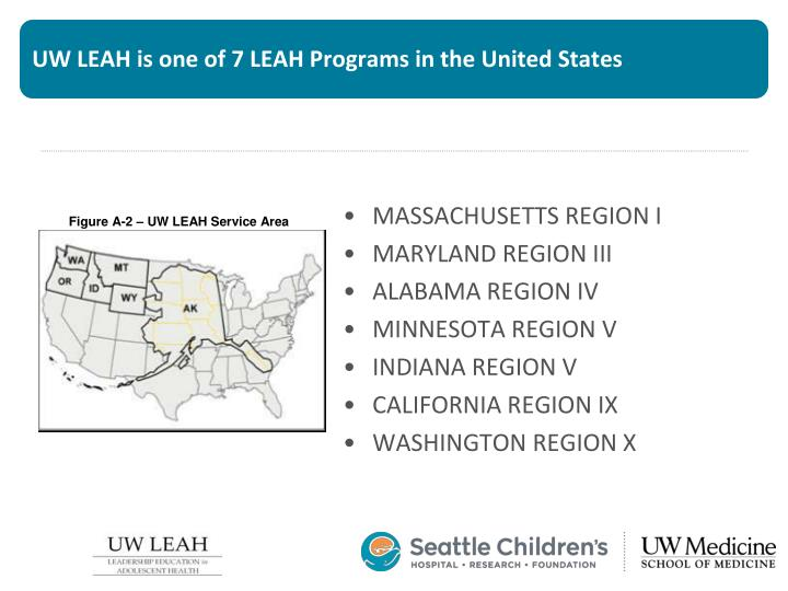 Uw leah is one of 7 leah programs in the united states