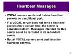 heartbeat messages