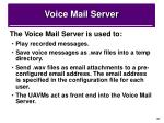 voice mail server1