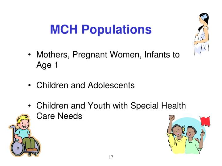 MCH Populations