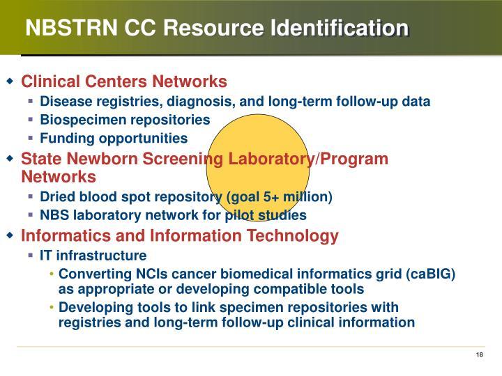 NBSTRN CC Resource Identification