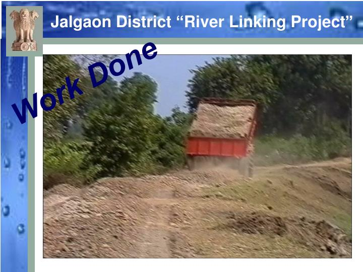 """Jalgaon District """"River Linking Project"""""""