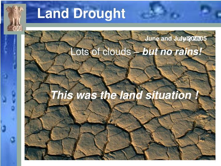 Land Drought