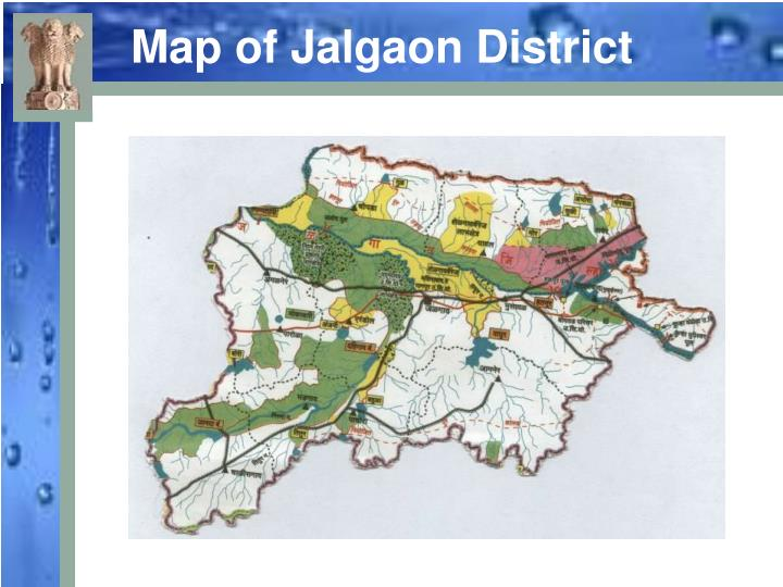 Map of Jalgaon District