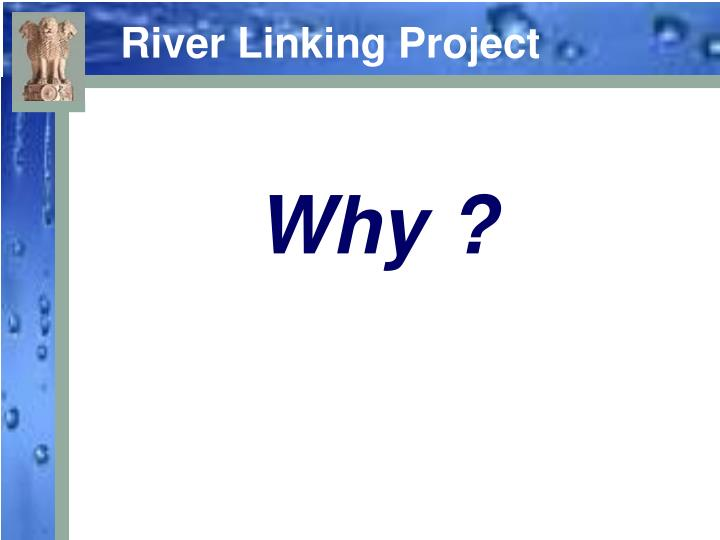 River linking project