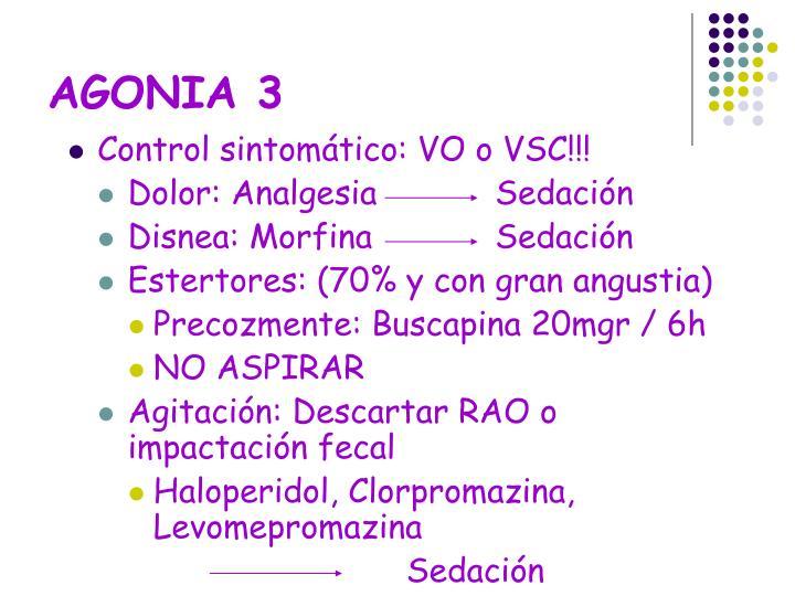 AGONIA 3