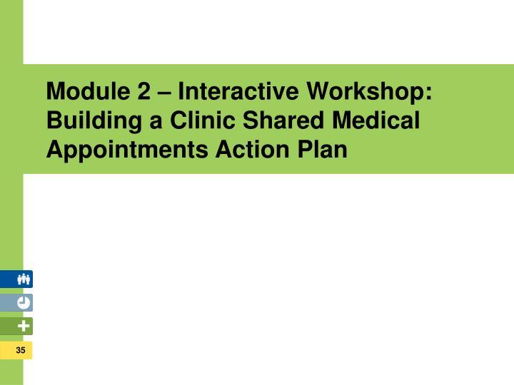 Module 2 – Interactive Workshop: