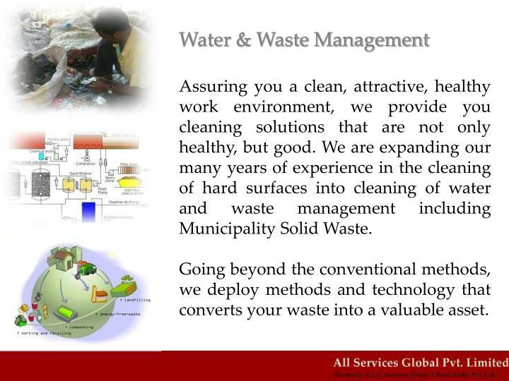 Water & Waste Management