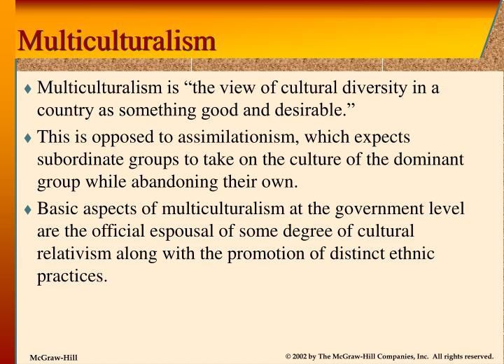 Multiculturalism