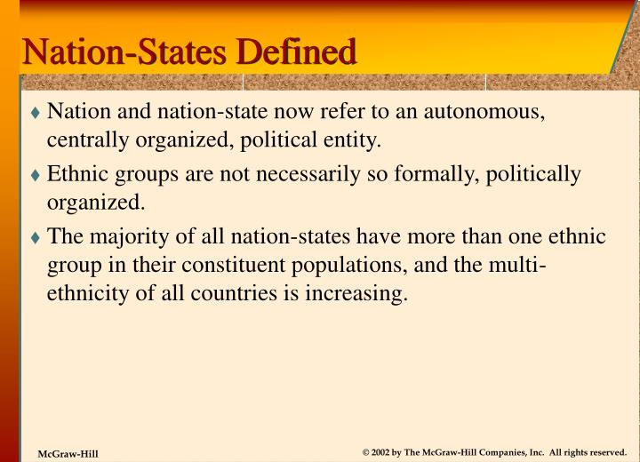 Nation-States Defined