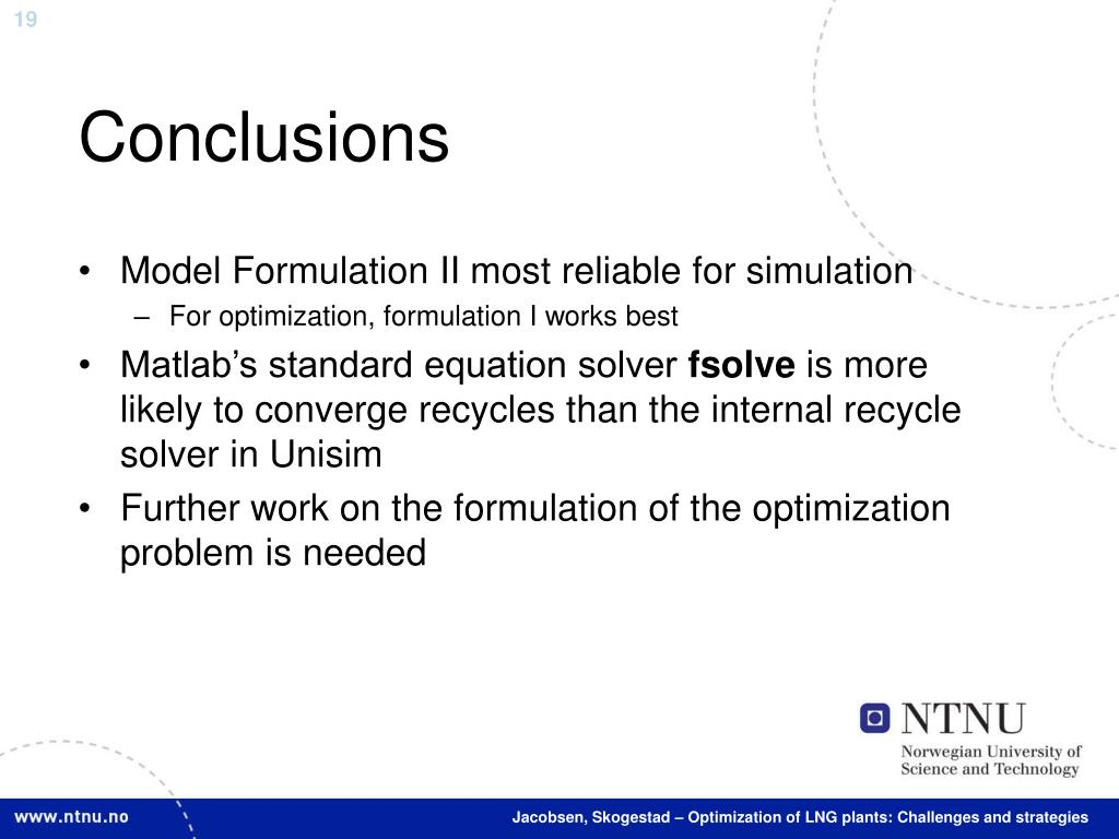 PPT - Optimization of LNG plants: Challenges and strategies