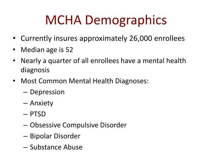MCHA Demographics