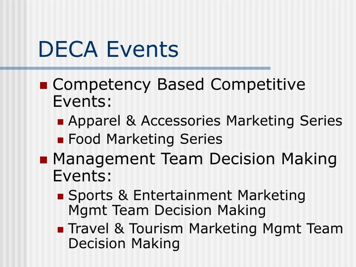 DECA Events