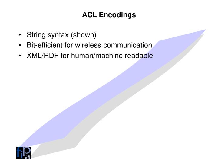 ACL Encodings