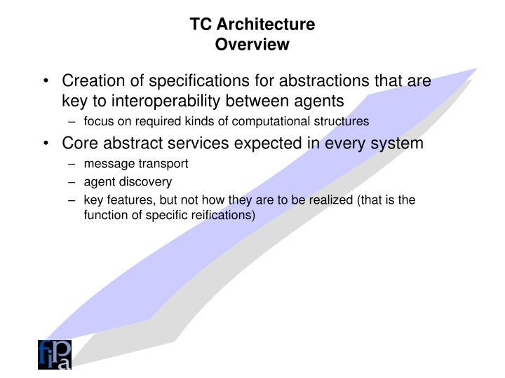 TC Architecture