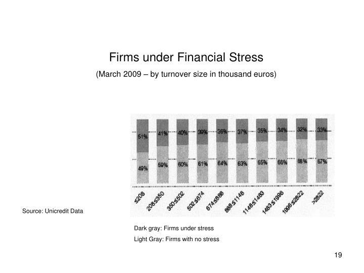 Firms under Financial Stress