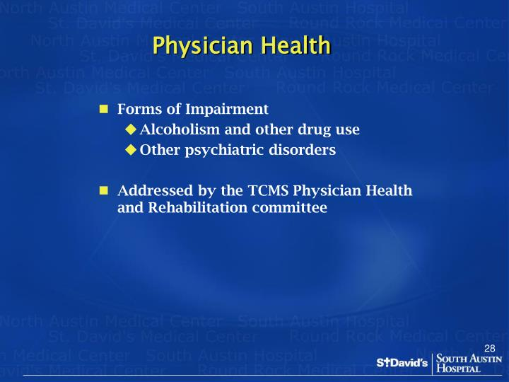Physician Health