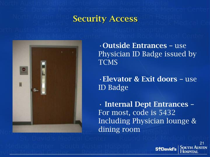 Security Access