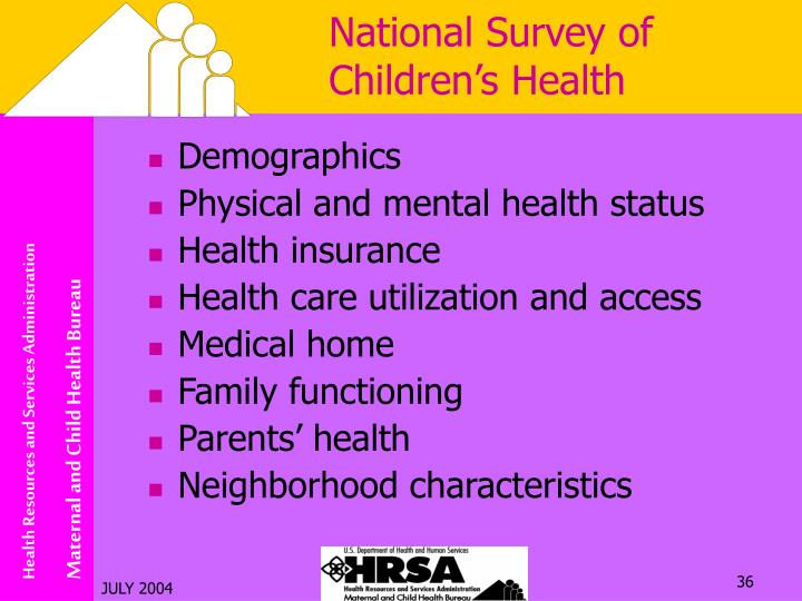 National Survey of