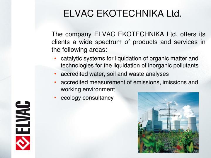 ELVAC EKOTECHNIKA Ltd.