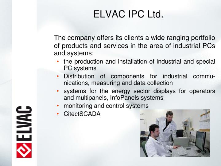 ELVAC IPC Ltd.