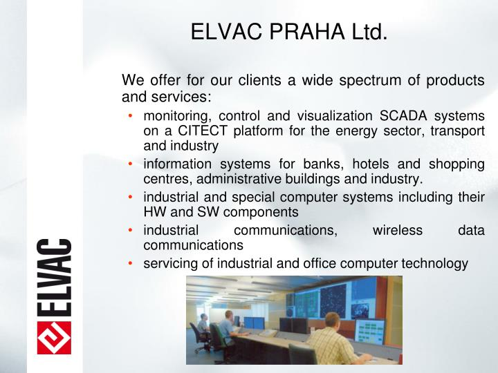 ELVAC PRAHA Ltd.